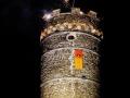 Noční palba z věže