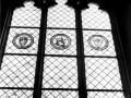 Vitráž v Rytířském sále (60.léta)