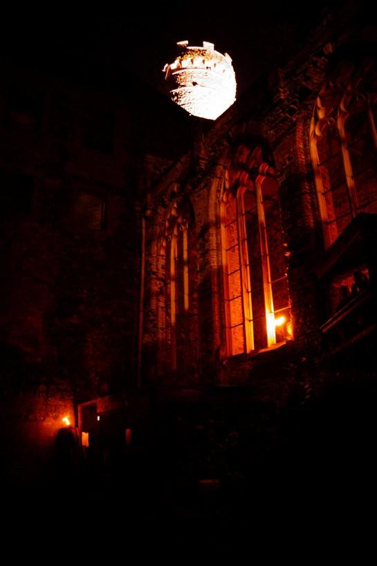 Rytířský sál v noci