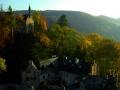Pohled z věže na kapli