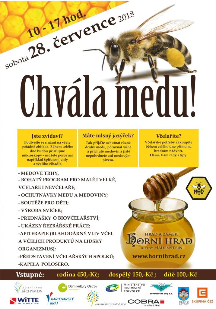 chvála medu 2018 plakát