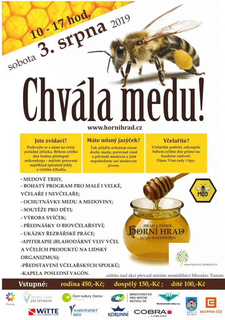 chvála medu 2019 plakát