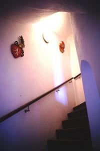 schodiště východní palác