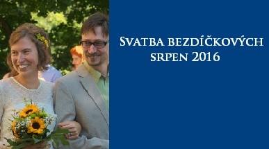 svatba bezdíčkových 2016
